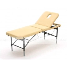JF-ST02  Стол для массажа складной трехсекционный с рамой из стали, 2 цвета