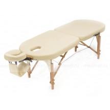 JF-Oval Стол массажный складной на буковой раме, 2 цвета