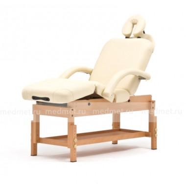 FIX-0A Стол массажный стационарный на деревянной раме, 3 цвета