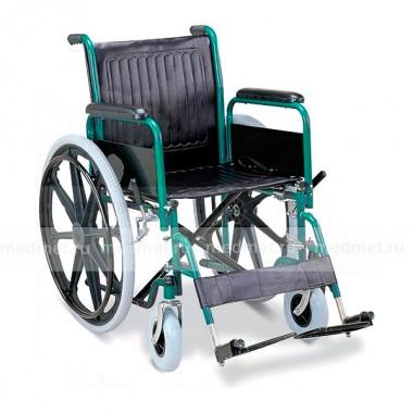 Кресло-коляска механическая стальная FS901В