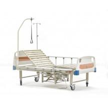 DB-10 Кровать медицинская  с туалетным устройством c электроприводом подъема спины и ног