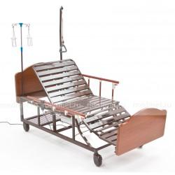 DB-11AW Кровать-кресло с электрической системой и с туалетом, деревянная, Серия Домашняя Забота