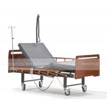 NV-2AL Кровать медицинская с электроприводом двухфункциональная, дерево, Серия Домашняя Забота