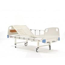 E-8 Кровать медицинская c механическим приводом секций спины и ног с принадлежностями