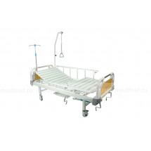 Медицинская кровать NV-E8T  MM-19 (2 функции) пластик с туалетным устройством