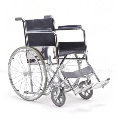 Кресло-коляска механическая стальная FS901