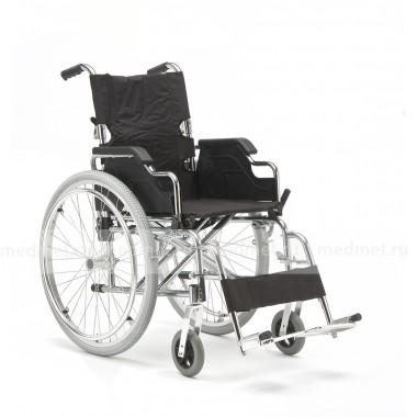 Кресло-коляска механическая стальная FS908AQ
