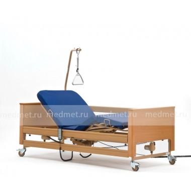 Arminia-2 Медицинская кровать с функцией изменения высоты трехфункциональная с матрасом