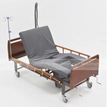 NV-43MT Кровать медицинская c туалетным устройством, функция кардио-кресло с подъемом спины и ног, дерево, Серия Домашняя Забота