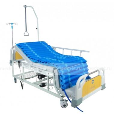 NV-5AT Кресло-кровать функциональная  для лежащих больных с туалетным устройством, дерево, Серия Домашняя Забота