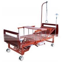 Медицинская кровать функциональная с туалетным устройством NV-4MT (MM-42Л)