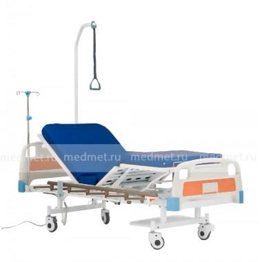 RS301 Кровать медицинская  четырехсекционная с элетроприводом секций ног и спины