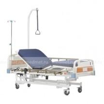 RS201 Кровать медицинская с электрорегулировкой высоты и с подъемом спины и ног